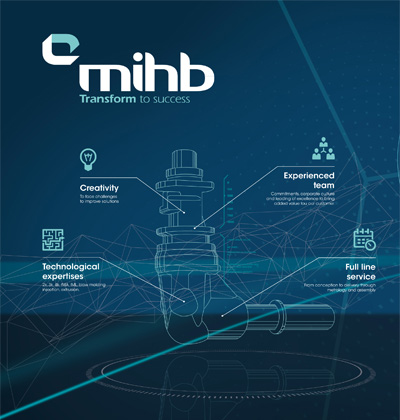 From the co-design to the logistics solutions MIHB partners with you during all production stages