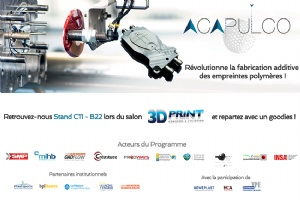 MIHB News : Acapulco program exhibits at 3D Print